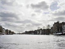 De kanalen Holland van Amsterdam Royalty-vrije Stock Fotografie