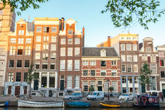 De kanalen van Amsterdam Royalty-vrije Stock Foto