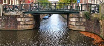 De kanalen van Amsterdam Stock Fotografie