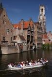 De kanalen van Brugge royalty-vrije stock foto's