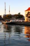 De kanalen van Kopenhagen Royalty-vrije Stock Fotografie