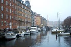 De Kanalen van Kopenhagen Royalty-vrije Stock Afbeelding