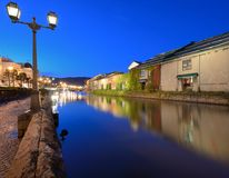 De Kanalen van Otaru van Japan royalty-vrije stock afbeeldingen