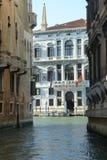De kanalen van Venetië Stock Afbeeldingen