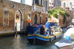 De kanalen van Venetië Royalty-vrije Stock Afbeeldingen