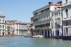 De kanalen van Venetië Stock Foto