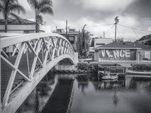 De kanalen van Venetië Stock Foto's