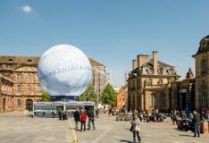 De Kandidatuur van Frankrijk voor Wereldmarkt 2025 royalty-vrije stock afbeeldingen