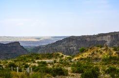 De Kanhatti das montanhas vale logo Fotos de Stock Royalty Free