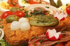 De kannibaal van de toost. Stock Afbeeldingen