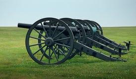 De Kanonnen van de Burgeroorlog Royalty-vrije Stock Foto's