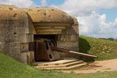 De kanonnen van de oorlog Stock Afbeeldingen