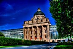 De kanselarij München van de staat - Staatskanzlei MÃ ¼ nchen stock foto