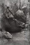 De kant van de klip. Stock Afbeeldingen