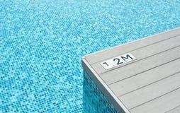 De kant van de pool Stock Foto