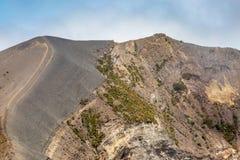 De Kant van een Vulkaan stock afbeelding