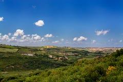 De kant van het land in Torres Vedras Portugal Royalty-vrije Stock Afbeeldingen