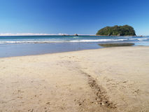 De kant van het strand Royalty-vrije Stock Foto's
