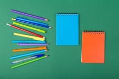 De kantoorbehoeften van de school Royalty-vrije Stock Afbeelding