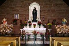 De Kapel en de Terugtocht van Cabrini van de moeder Stock Afbeeldingen