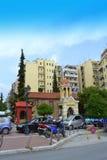 De kapel Thessaloniki Griekenland van de beklimmingskerk Royalty-vrije Stock Afbeelding