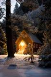De Kapel van de berg Stock Foto