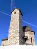 De kapel van de berg Stock Fotografie