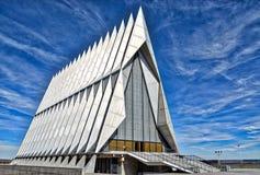 De Kapel van de de Luchtmachtacademie van Verenigde Staten in Colorado Springs royalty-vrije stock afbeelding