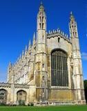 De Kapel van de Universiteit van de koning stock afbeelding