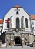 De Kapel van heilige Georgs, Worstje Neustadt stock afbeeldingen
