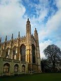 De Kapel van de koningenuniversiteit stock fotografie