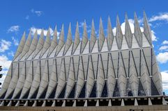 De Kapel van de Luchtmachtacademie Royalty-vrije Stock Foto's