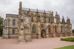 De Kapel van Rosslyn, Roslin, Schotland Stock Foto