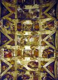 De Kapel van Sistine Stock Afbeeldingen