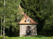 De kapel van St.Terezie van Lisieux in Tsjech Stock Foto