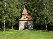 De kapel van St.Terezie van Lisieux in Tsjech Stock Afbeeldingen