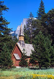 De kapel van Yosemite Stock Foto