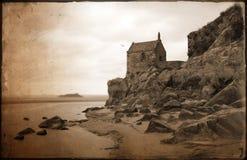 De kapel zet St Michel op Royalty-vrije Stock Foto's