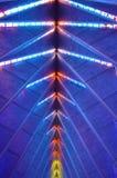 De Kapelplafond van de Luchtmachtacademie Stock Foto's