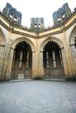 De kapels van het Klooster van Batalha inperfect Stock Fotografie