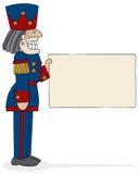 De Kapitein van de notekraker Vector Illustratie