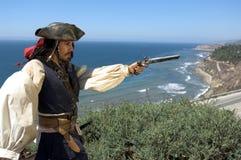 De Kapitein van de piraat stock afbeelding