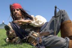 De Kapitein van de piraat royalty-vrije stock afbeeldingen