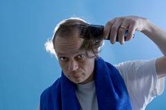 De kapper van de zelfbediening stock fotografie