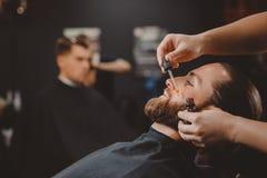 De kapper van de kapperswinkel royalty-vrije stock foto