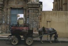 De kar Syrië van Mazut Stock Foto's