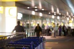 De kar van de bagage Stock Fotografie