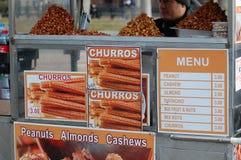 De Kar van de Snack van de Stad van New York Royalty-vrije Stock Afbeelding
