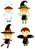 De karakters van Halloween Stock Fotografie