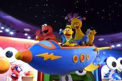 De Karakters van Sesame Streetmuppet Royalty-vrije Stock Foto